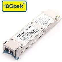 40 Gigabit QSFP+ LC Single-Mode Transceiver, 40GBASE-LR4 Module for Juniper JNP-QSFP-40G-LR4, 4 CWDM Lanes, DDM, 10km