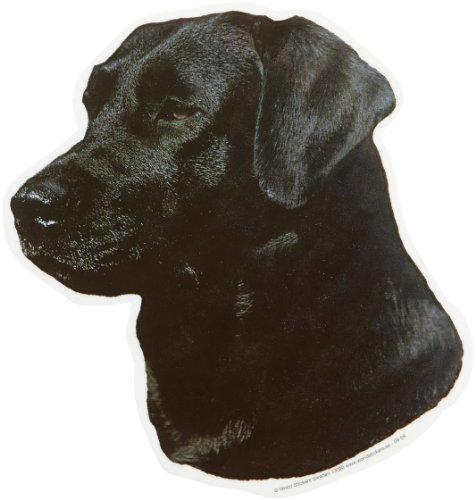 World Stickers Schwandt Heimtierbedarf 13020 Aufkleber 2 Stück ca. 140 x 160 mm für Warnschild Labrador schwarz
