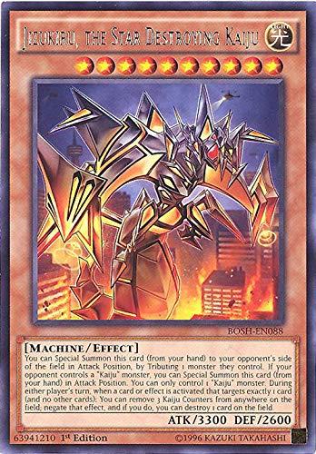 Yu-Gi-Oh! - Jizukiru, the Star Destroying Kaiju (BOSH-EN088) - Breakers of Shadow - Unlimited Edition - Rare by Yu-Gi-Oh!