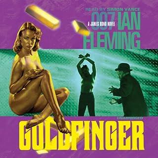 Goldfinger audiobook cover art