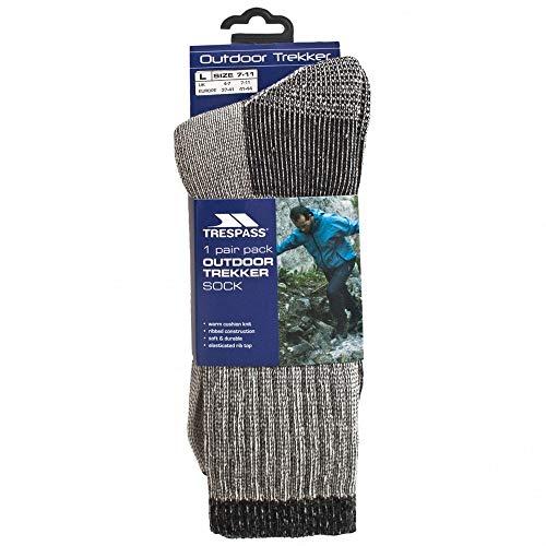 Trespass - Calcetines para botas de montaña lana merino