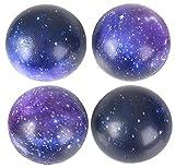 Rhode Island Novelty 2 Inch Galaxy Foam Stress Balls, 50 Balls per Order