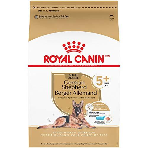 Royal Canin German Shepherd Adult 5+ Dry Dog Food for Aging Dogs, 28 lb Bag