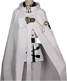 Anime Seraph of The End Owari No Seraph Mikaela Hyakuya Uniforms Cosplay Costume with Wig Full Set