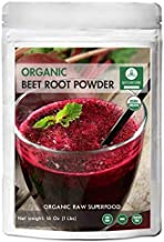 Organic Beet Root Powder (1 lb) by Naturevibe Botanicals, Raw & Non-GMO | Nitric Oxide Booster | Boost Stamina and Increas...