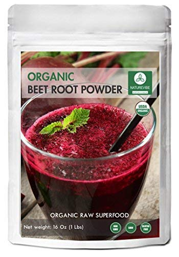 Organic Beet Root Powder (1 lb) by Naturevibe Botanicals