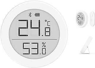 Cleargrass Detector de Temperatura y Humedad Bluetooth de Alta precisión, habitación del bebé con botón de 1 año Alimentad...