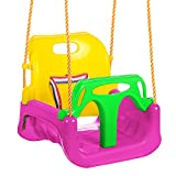 ANCHEER 3-in-1 Toddler Swing Seat Infants to Teens, Detachable Outdoor Toddlers Children...