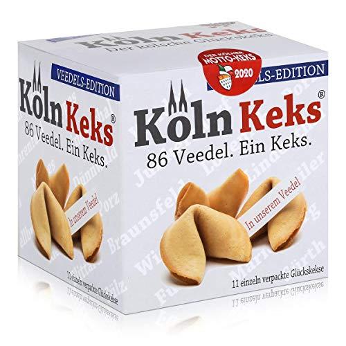 Köln Keks 86 Veedel. Glückskeks Veedels-Edition 66g