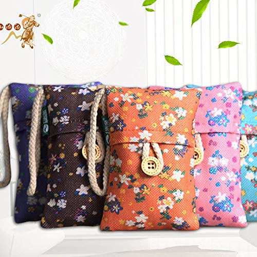 Ramoni Aktivierte Bambuskohle Tasche Luftreinigungs Taschen für Gefrierschränke Autos Closet Schuhe Küchen Keller Schlafzimmer Wohnbereiche - Halten Zimmer frisch, trocken und geruchsfrei