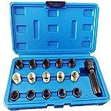 Juego de reparación de roscas de bujías M14 x 1,25 mm, 16 unidades
