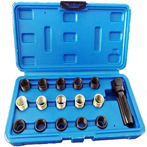 Zündkerzengewinde Reparatur Satz M14 x 1.25 mm 16-TLG Reparatur Kit