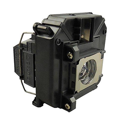 Supermait EP68 A+ Qualität Ersatzprojektorlampe mit Gehäuse, kompatibel mit Elplp68, Fit für EH-TW5900 / EH-TW6000 / EH-TW6000W / EH-TW6100 / PowerLite HC 3010 / PowerLite HC 3010e (MEHRWEG)