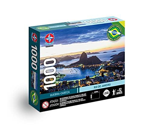 Quebra-cabeça, Rio de Janeiro, 1000 peças, Estrela - Exclusivo Amazon