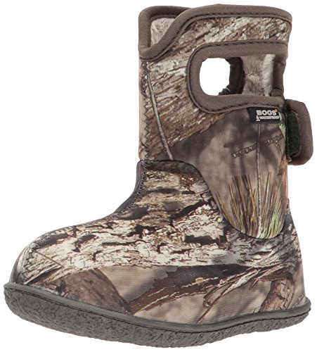 Bogs Baby Bogs Waterproof Insulated Toddler/Kids Rain Boots for Boys and Girls, Camo Print/Mossy Oak, 8 M US Toddler