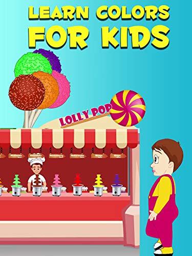 Learn Colors For Kids - Lollipop