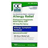 Quality Choice Fluticasone Propionate Allergy Nasal Spray 0.54oz Each (2)