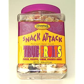 Higgins 466701 Higg Avian True Fruits Treat For Birds, 20-Pound (packaging may vary)
