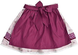 MoGo Baby - Mädchen Baby-Trachtenrock rosa mit Schürze weinrot, ROSA,