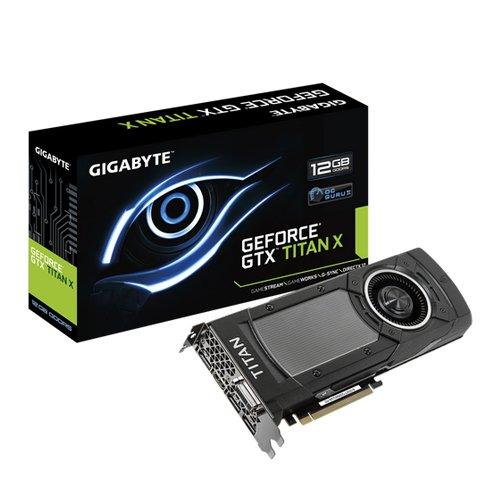 GIGABYTE GeForce GTX Titan X 12GB GDDR5 PCI-E 3.0