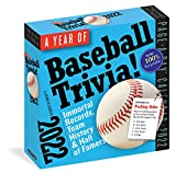 A Year of Baseball Trivia! Page-A-Day Calendar 2022: Celebrating Teams, Stats, Personalities, and Record Setting Moments in Baseball.