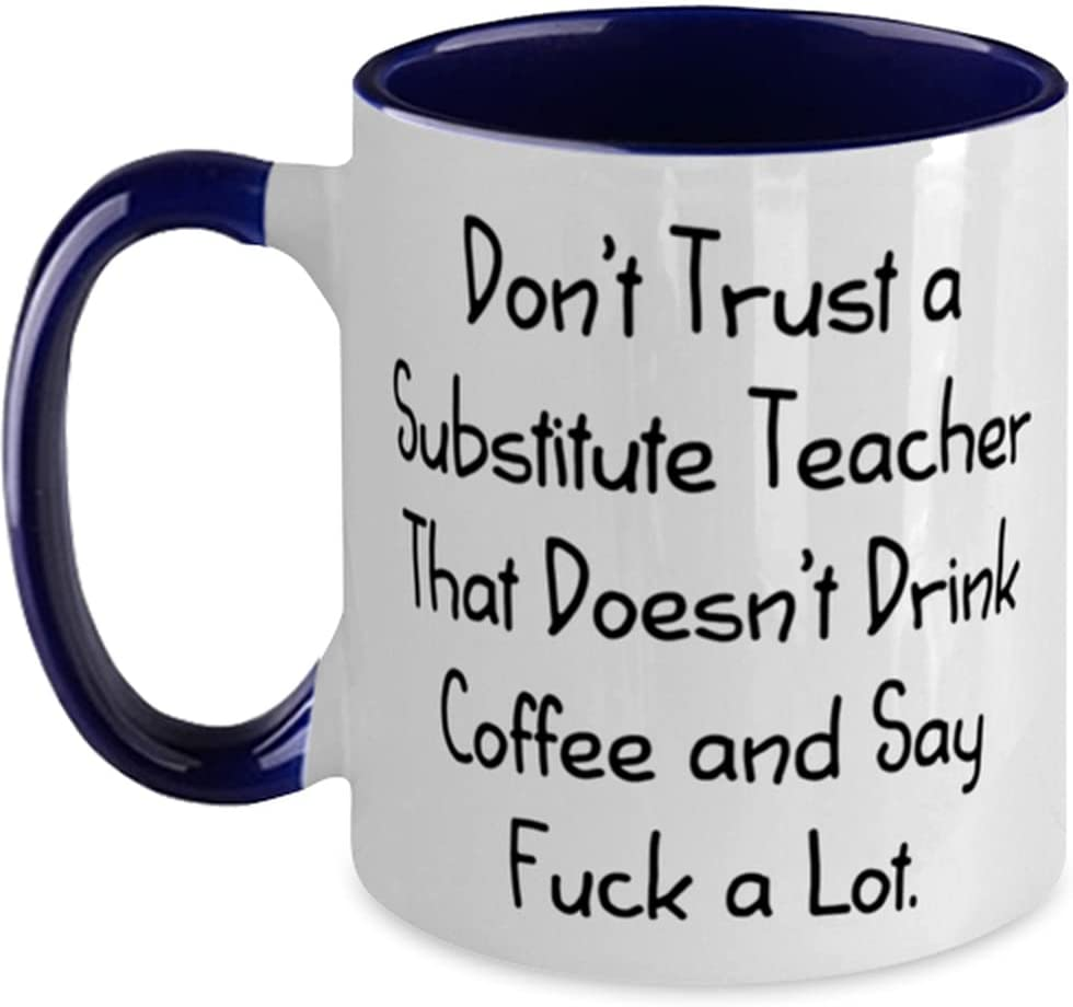 Sarcastic Substitute teacher New product! New type Safety and trust Don't Teacher a Trust T