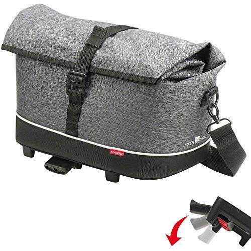 KlickFix Unisex– Erwachsene Rackpack Gepacktasche, grau, 1size