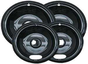 Porcelain Electric Stove Replacement Bowls Burner Drip Pans