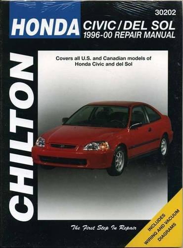Honda Civic and del Sol: 1996-00 Repair Manual