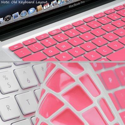 Funda de Silicona para Teclado Rosa para Apple MacBook Air (13