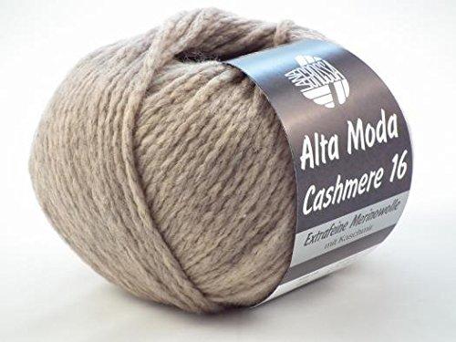 Lana Grossa Alta Moda Cashmere 16 3 - Beige/Grau meliert