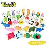 24 Stück Radiergummi Seetiere für Mitgebsel Kindergeburtstag Eraser
