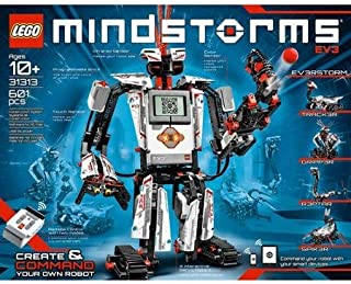 LEGO MINDSTORMS EV3 Building Set Includes 3 Interactive Servo Motors, Remote Control, Improved And Redesigned Color Sensor, Redesigned Touch Sensor, Infrared Sensor And 550+ LEGO Technic Elements