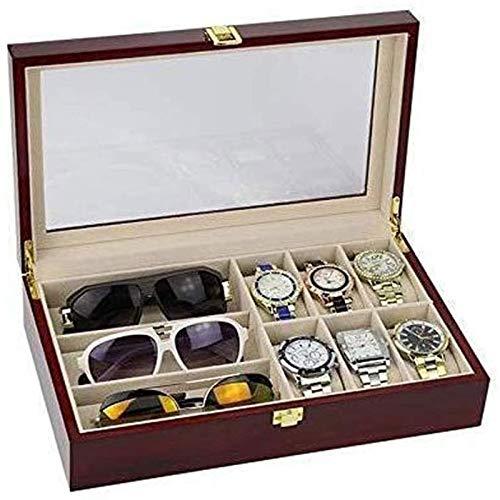 XDLH Schmuckkiste - Uhr Aufbewahrungsbox Geschenkverpackung Schmucksachen Holzkiste Exquisite Uhrenarmband Finishing Collection