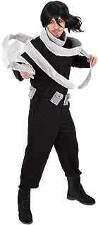 Men's Eraserhead MHA Hero Shota Aizawa Cosplay Costume with Scarf Belt