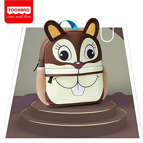 Ly-lgb Mochila de Viaje Infantil Mochila de Ardilla de Dibujos Animados (Color : 1, Size : L)