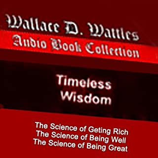Science of Getting Rich Trilogy                   By:                                                                                                                                 Mr. Wallace D. Wattles                               Narrated by:                                                                                                                                 Core Media Productions                      Length: 7 hrs and 31 mins     13 ratings     Overall 4.0