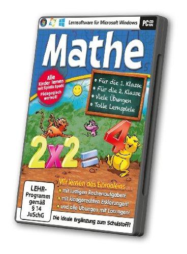 Mathe - PC-lernsoftware für die 1. & 2 Klasse
