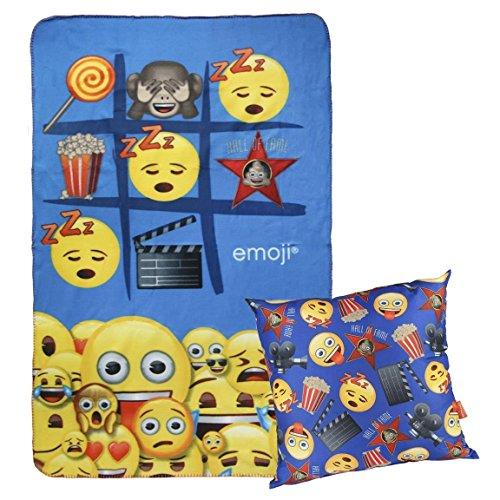Cerdá Emoji Calentadores, Azul (Azul 04), One Size (Tamaño del fabricante:Única) para Niños
