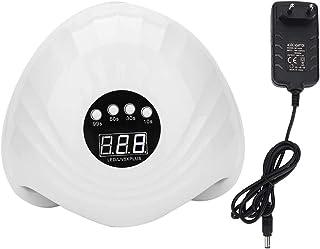 Secador de Gel De Uñas de Luz UV Lámpara LED de Duradero de Ahorro de Energía, Máquina de Pulido de Curado Práctico Con Pantalla de Visualización Digital(01)