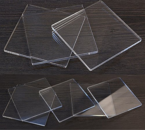 mofa Clear Acrylic Perspex Sheet Cut Plastic Transparent Board Perspex Panel,DIY and Sign (