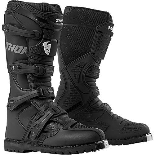 Thor Blitz XP Quad ATV Boots Stiefel Enduro Motocross MX schwarz 2019, Größe: Größe 9 (EU 43)