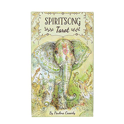 Spiritsong Tarot: A Deck for Spiritsong Tarot,78 Sheets of Tarot for Beginners Family Party Board Games