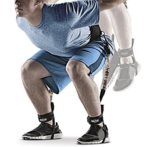 INNSTAR Vertical Jump Trainer Leg Strength Resistance Bands Set for Basketball Triple Jump Football...