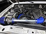 PERFORMANCE AIR INTAKE KIT FIT 1995-2000 FORD EXPLORER/RANGER/MAZDA B4000 4.0L OHV V6 ENGINE (BLUE)