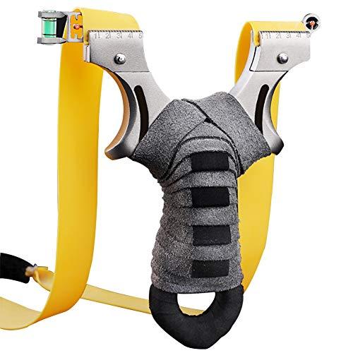 NALCY Zwille Steinschleuder, Rostfreier Stahl Schleuder Katapult Steinschleuder Zwille Slingshot Schleuder Steinschleuder Kaufen Sportschleuder