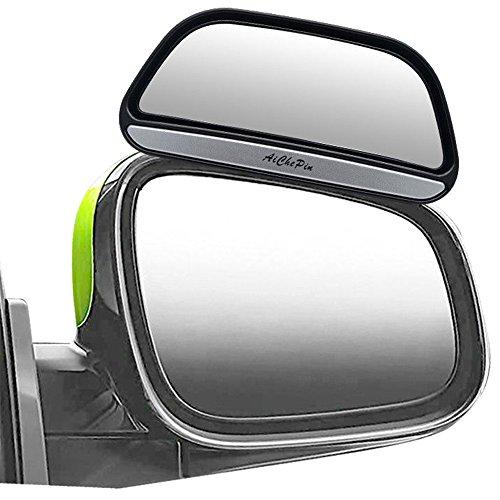 MASO Verstellbar Zusatz Auto Aussenspiegel Weitwinkel für Den Blindspot Bei Anhänger und Wohnwagen