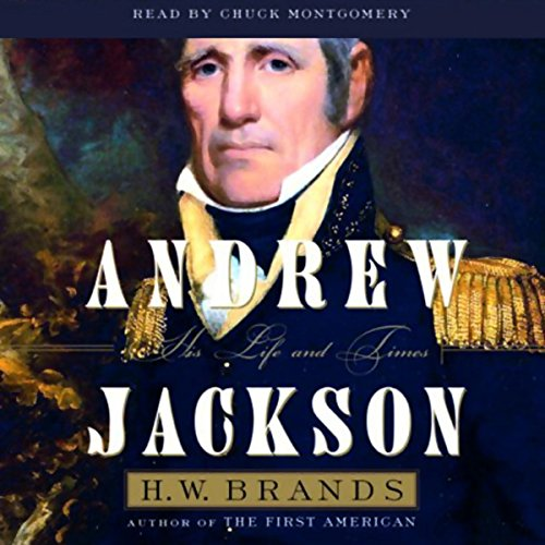 Andrew Jackson audiobook cover art