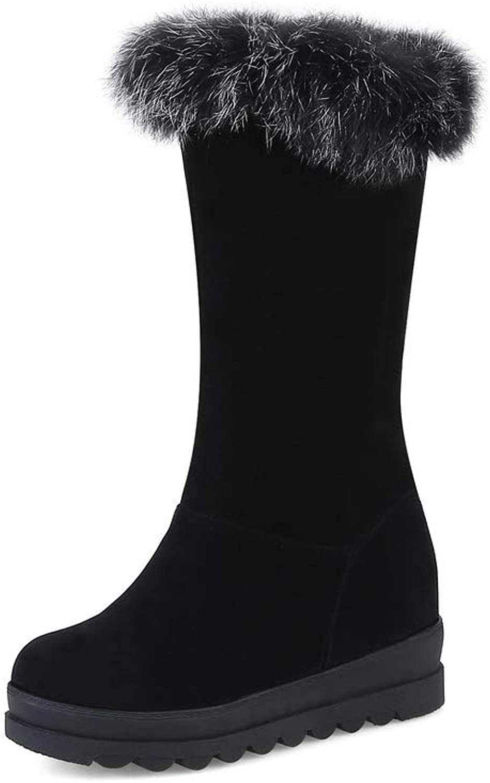 AdeeSu Womens Warm Lining Fringed Boots Urethane Boots SXC03597