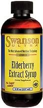 Swanson Elderberry Extract Syrup 8 fl Ounce (237 ml) Liquid